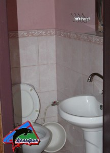 Номера класса Стандарт 3-х местный Сан узел умывальник и туалет