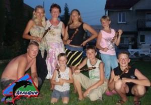 Фото гостей мини пансионата Дельфин
