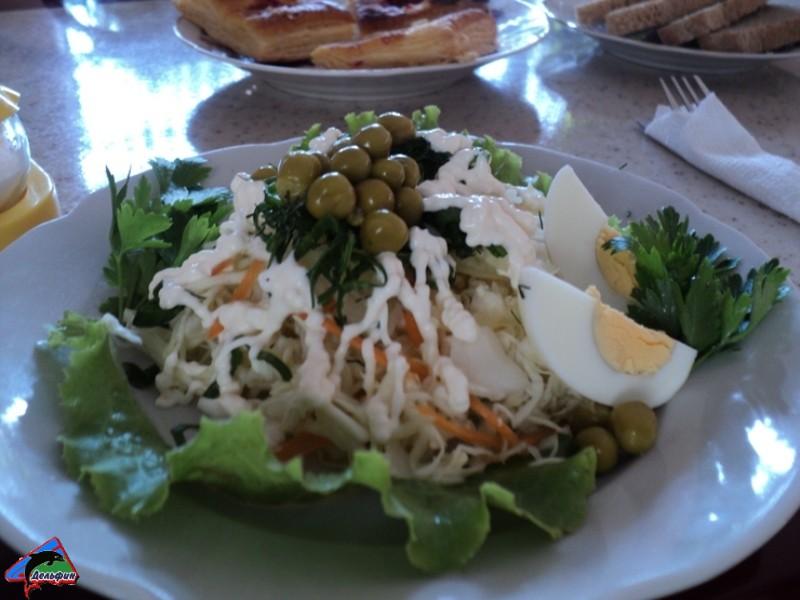 Салаты и вторые блюда
