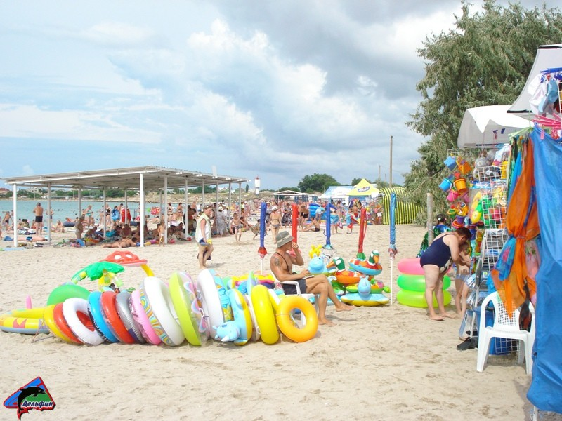 Пляж пгт Черноморское