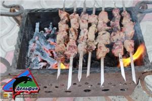 Переносной мангал для приготовления шашлыков и других блюд