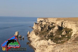 Заповедник Джангуль оползневой берег Крыма