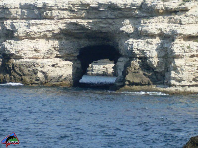 Тонель в море на малом Атлеше