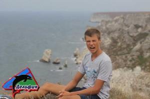 Остров Крым - Оползневое побережье Джангуль - Эмоции на высоте